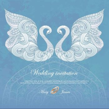 Wedding-invitation-with-swans-free-vector-0422