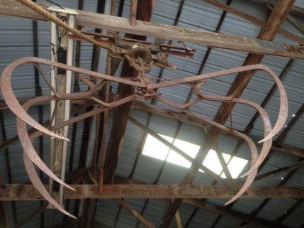 hay claw/pulley on ebay