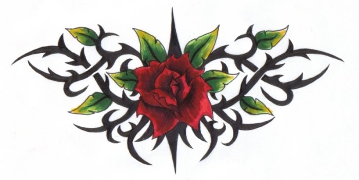 rose-with-thorns-drawing-52