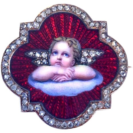 Antique-Diamond-Guilloche-Enamel-Cupid-Cherub-pic-1A-2048-10.10-b8596f0a-f